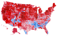 United States presidential election results by county, 2020 (Scott Scenario)