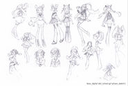 More sayu concept sketches