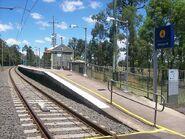 Vineyard railway station entrance