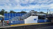Bexley North Station Upgrade - timelapse Sat 5 - Sun 6 December 2020