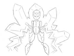 Crystal doodle
