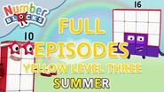 SummerLearning Numberblocks - Yellow Level Three Full Episodes 13-15 Learn to Count WithMe