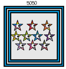 Numberblock 5050 (Numbers 1-100 Added Together).png