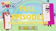 SummerLearning Numberblocks - Yellow Level Three Full Episodes 25-27 Learn to Count WithMe