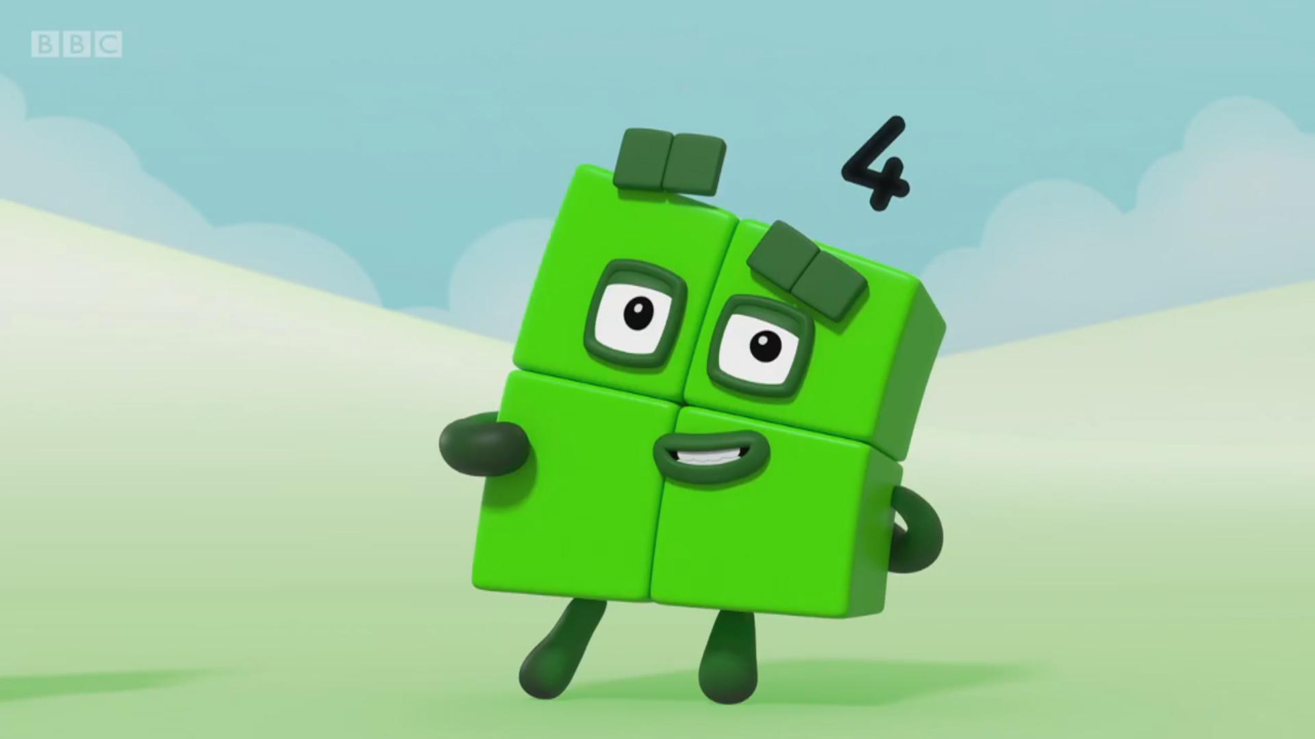 Four (Numberblocks episode)