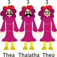 The Trapezist Threes