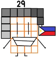 Numberblock 29 the Philippine Jeepney Driver