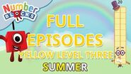 SummerLearning Numberblocks - Yellow Level Three Full Episodes 22-24 Learn to Count WithMe