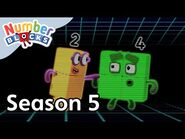@Numberblocks - Full Episodes - S5 EP14- Team Tag