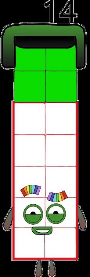 Numberblocks 14 Scratch.png