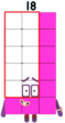 Eighteen from numberblocks by alexiscurry ddmkcz1-fullview