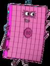 Numberblocks Vector - Eighty (Eight Tens)