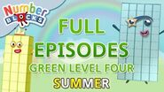 SummerLearning Numberblocks - Green Level Four Full Episodes 1-3 Learn to Count WithMe