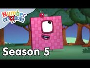 @Numberblocks - Full Episodes - S5 EP29- 100 Ways to Leave the Planet