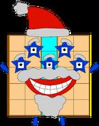 Numberblock 25 Santa Claus