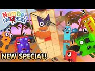 @Numberblocks- The Treasure of Hexagon Island! 👑🏝- Brand New Full Episode - Learn to Count