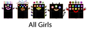 Numberblock Monsters Count by Tens (60-100)