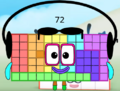 Numberblock 72