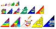 Triangle Numberblocks