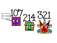 Multiples of 107 (Numbericons)