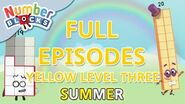 SummerLearning Numberblocks - Yellow Level Three Full Episodes 19-21 Learn to Count WithMe