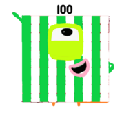 Cute Yoshi as a Numberblock.png