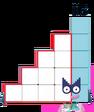 Numberblocks Vector - Fifteen (Default Arrangement)