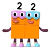 The Terrible Twos forming a square