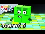  @Numberblocks - Full Episodes - S5 EP24- Four On The Floor