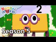 @Numberblocks - Full Episodes - S5 EP8- Two Land