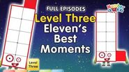 BacktoSchool - Numberblocks Level Three All the Best Eleven Moments FULL EPISODES