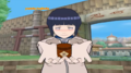 Hinata gives you an item