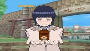 Hinata gives you an item