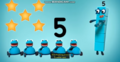 5 Numberblobs