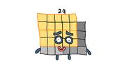 Ред Стар's Fan-Made Numberblocks Twenty-Nine