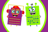 Numberblock Party Duo