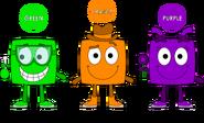 Secondary Color Blocks