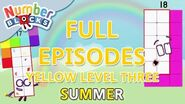 SummerLearning Numberblocks - Yellow Level Three Full Episodes 16-18 Learn to Count