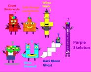 The spooky Sevens' names