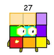 Numberblocks 27