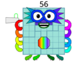 Numberblock 56 by Ryan