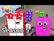 @Numberblocks - Full Episodes - S5 EP10- Odd Side Story