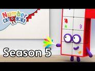 @Numberblocks - Full Episodes - S5 EP12- Making Patterns