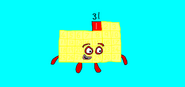 Numberblocks Thirty-One (figured-out) by Red Star