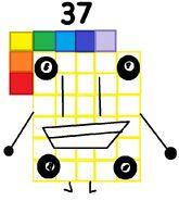 Numberblock 37 the Billiard Player