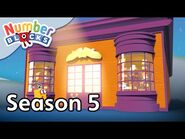 @Numberblocks - Full Episodes - S5 EP9- Two Times Shoe Shop
