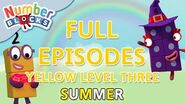 SummerLearning Numberblocks - Yellow Level Three Full Episodes 28-30 Learn to Count WithMe