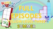 SummerLearning Numberblocks - Yellow Level Three Full Episodes 7-9 Learn to Count WithMe