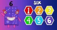 Numberblock 6 (6 Hexagons)