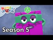 @Numberblocks - Full Episodes - S5 EP16- Now in 3D